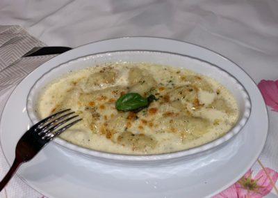 Gnocchi mit 4 Käse